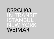 IN-TRANSIT: ISTANBUL—NEW YORK, 2009